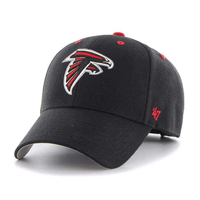 sale retailer c6b2d ac7c5  47 NFL Atlanta Falcons MVP Adjustable Hat, One Size, Black