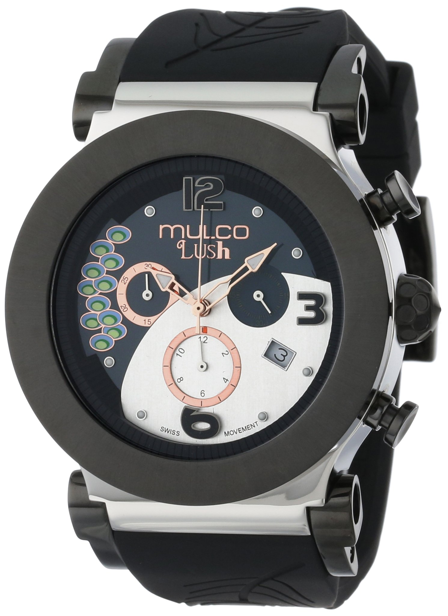 MULCO Unisex MW5-2388-025 Chronograph Analog Watch by MULCO