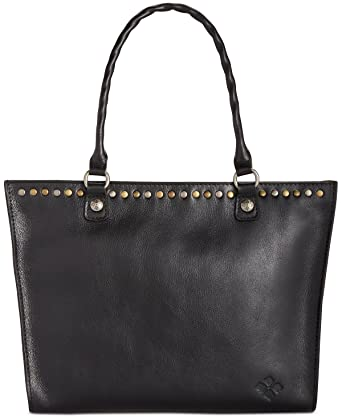 44ce7b080ed2 Amazon.com  Patricia Nash Zancona Tote (Black)  Clothing