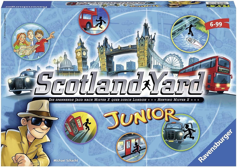 Ravensburger Personajes fántasticos Juego de Mesa Scotland Yard Junior, Color Azul, Amarillo, Negro, Miscelanea (22289 6): Amazon.es: Juguetes y juegos