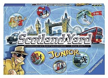 Ravensburger Personajes fántasticos Juego de Mesa Scotland Yard ...