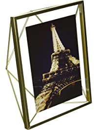 Umbra Prisma Picture Frame, 5 By 7 Inch, Matte Brass