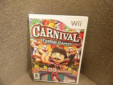 Amazon.com: Carnaval: Juegos de Fun Fair (Wii): Video Games