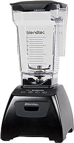 Blendtec Classic Fit Blender with FourSide Jar (75 oz), 30-sec Pre-programmed