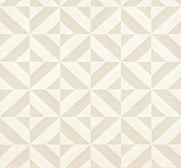 Erismann Papier Peint Intisse Visio 6950 02 Motif Graphique Blanc
