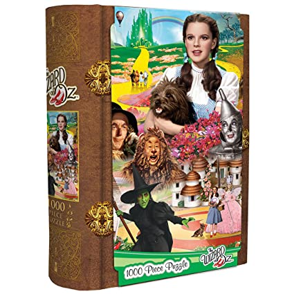MasterPieces Wizard of Oz 2017 Book Box Assortment Puzzle, 1000-Piece