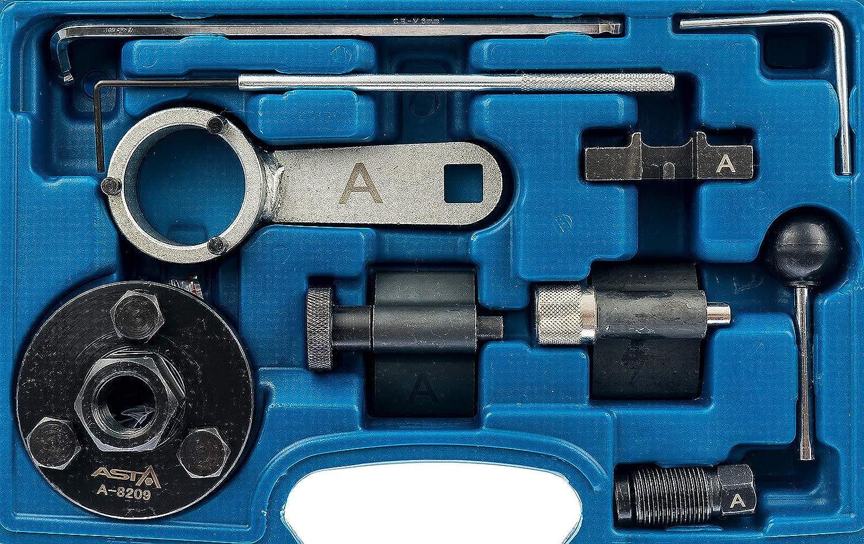 Motor de juego a 8209 Juego de herramientas de ajuste para VAG 1.6 y 2.0 Tdi Diesel Common Rail Motores ajuste Herramienta de bloqueo herramientas zahriemen ...