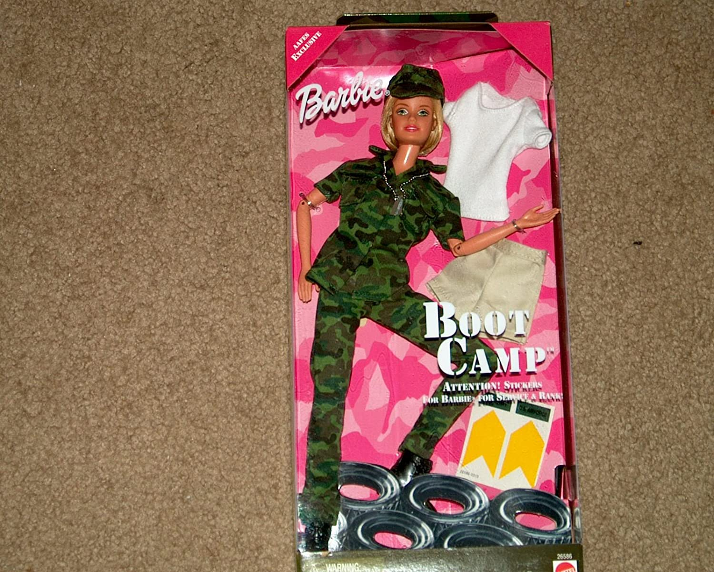 Wonderbaarlijk Amazon.com: Boot Camp Barbie #26586 (1999 Edition) by Mattel: Toys CS-16
