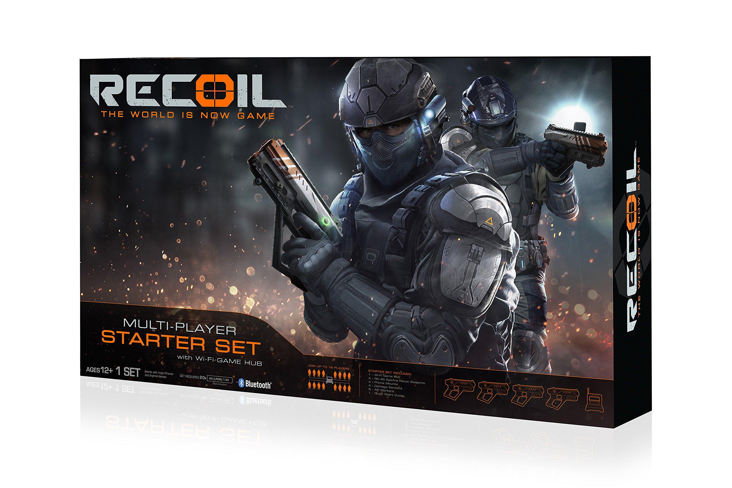 Recoil Laser Combat-4-Player Start Set Amazon Exclusive