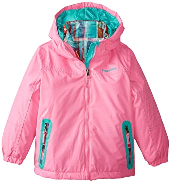 573a84bf8180 Amazon.com  Rugged Bear Little Girls  Toddler Systems Coat with ...
