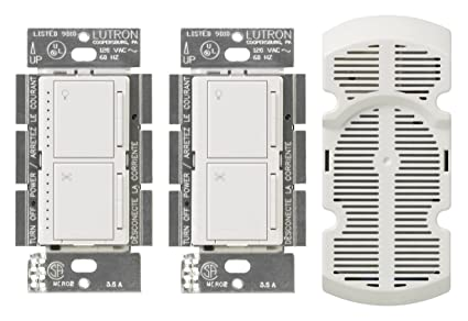 Lutron ma lfq3 wh maestro multi location fan control kit white lutron ma lfq3 wh maestro multi location fan control kit white mozeypictures Images