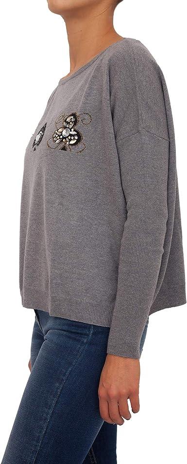 materiales de alta calidad nueva alta calidad calidad estable Liu Jo Pull Femme: MainApps: Amazon.fr: Vêtements et accessoires