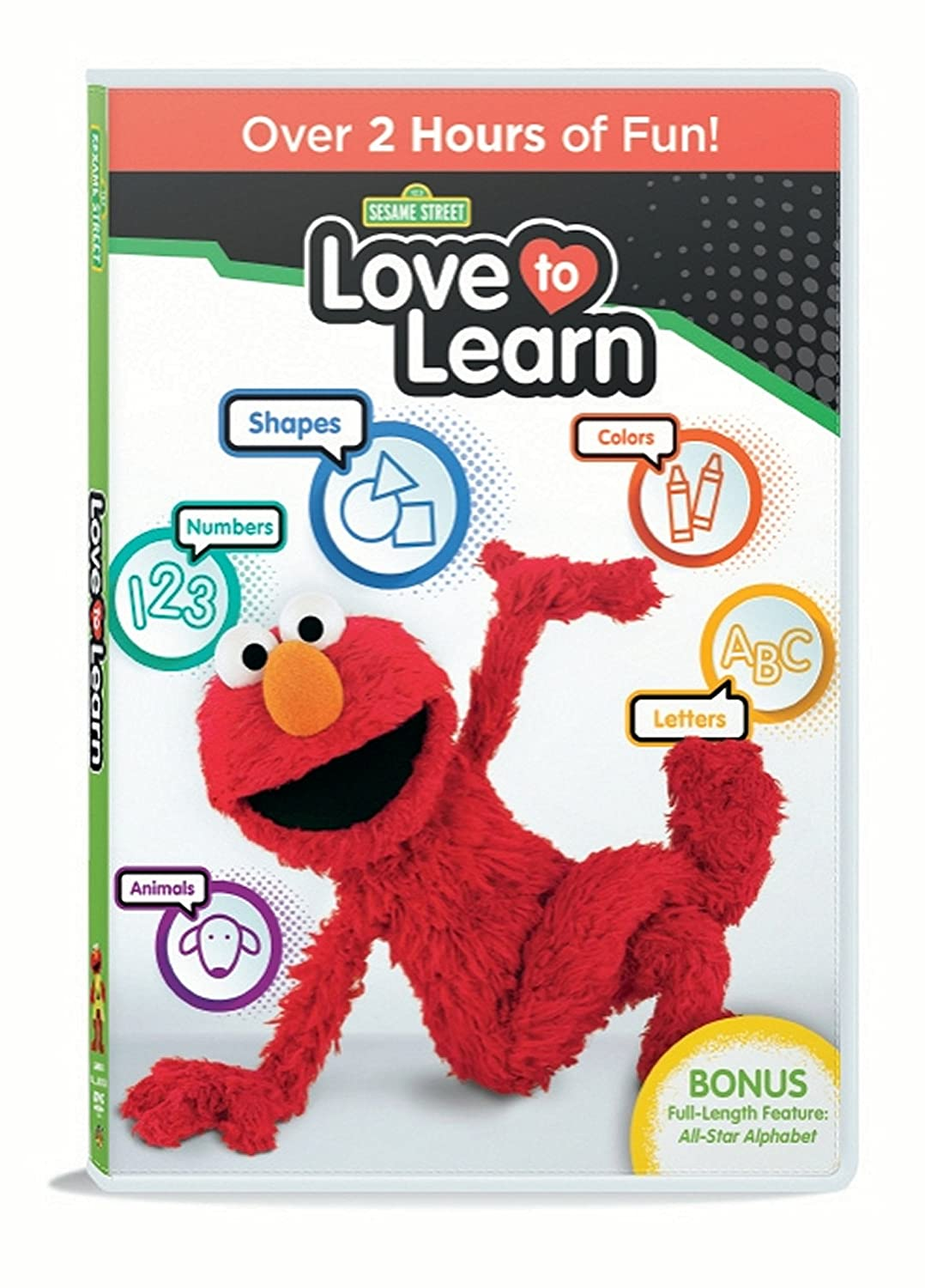 Get Your Copy of Sesame Street: Love To Learn DVD Today