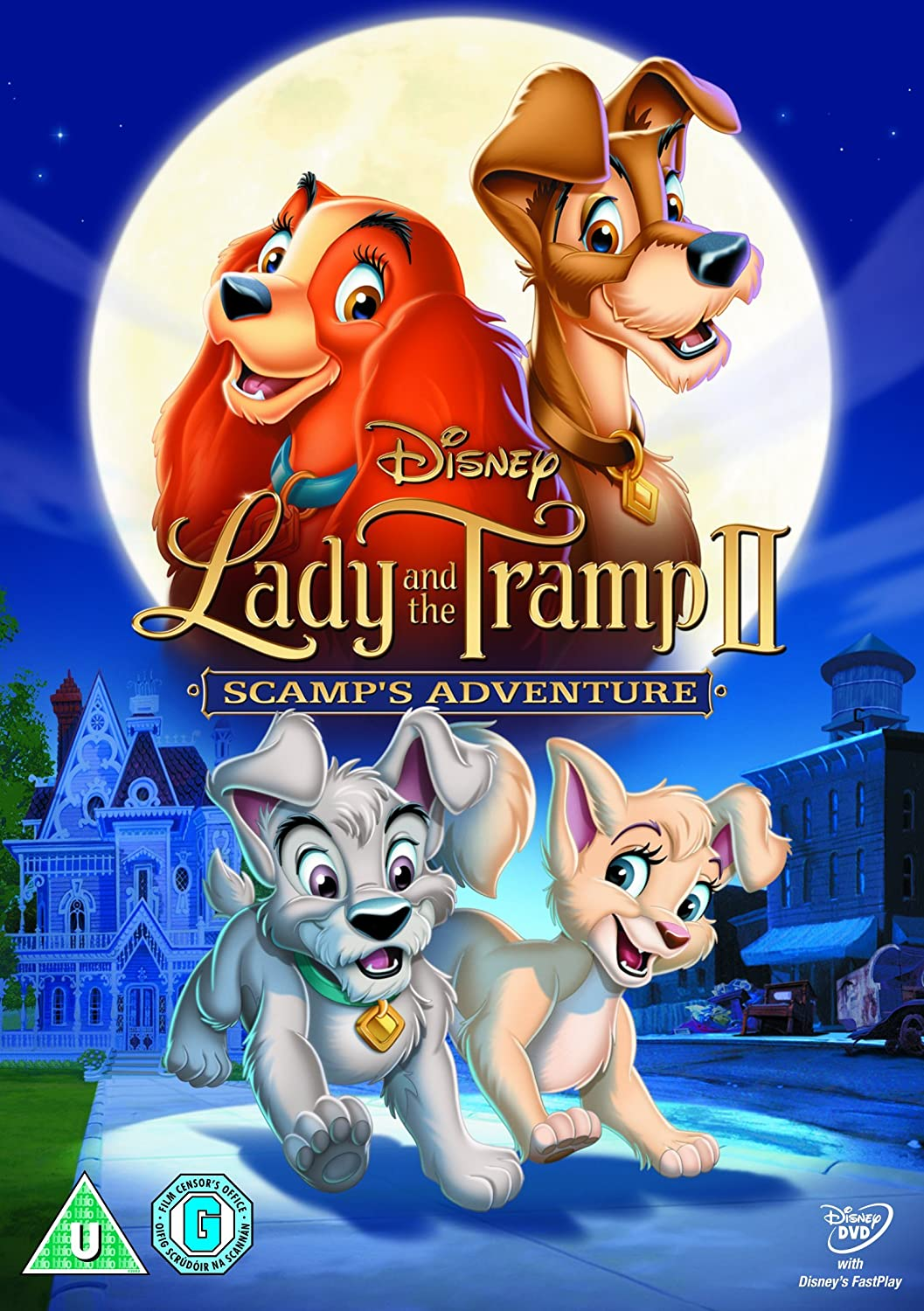 Amazon Com Lady And The Tramp Ii Scamp S Adventure Dvd Darrell Rooney Jeannine Roussel Movies Tv