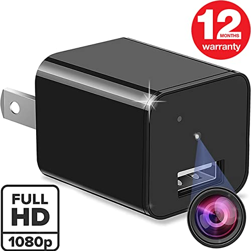 Spy Camera – Hidden Camera – Premium Pack – Best Spy Charger – 1080P Wide Angle – USB Hidden Camera – Hidden Spy Camera – Hidden Nanny Cam – Hidden Spy Cam – Hidden Cam – Surveillance Camera Full HD