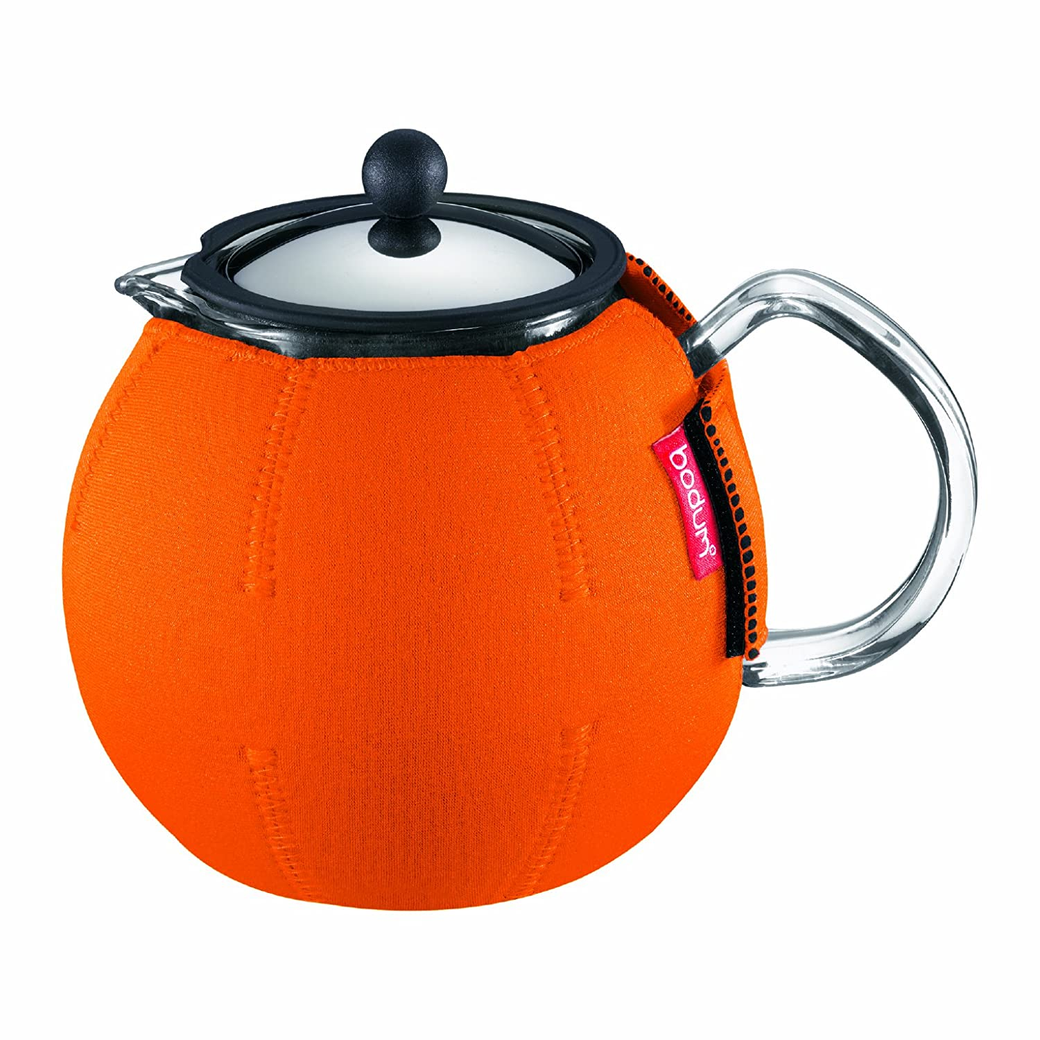 Bodum 11022-106 Nero 1.0 Litre 34 oz Tea Coat for Assam Tea Press, Orange