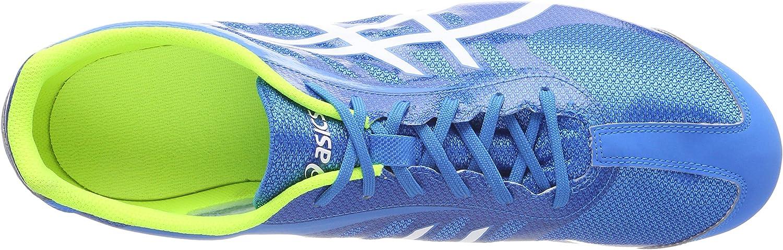 ASICS Unisex-Erwachsene Hyper Ld 5 Leichtathletikschuhe Blau (Diva Blue/White/Safety Yellow)