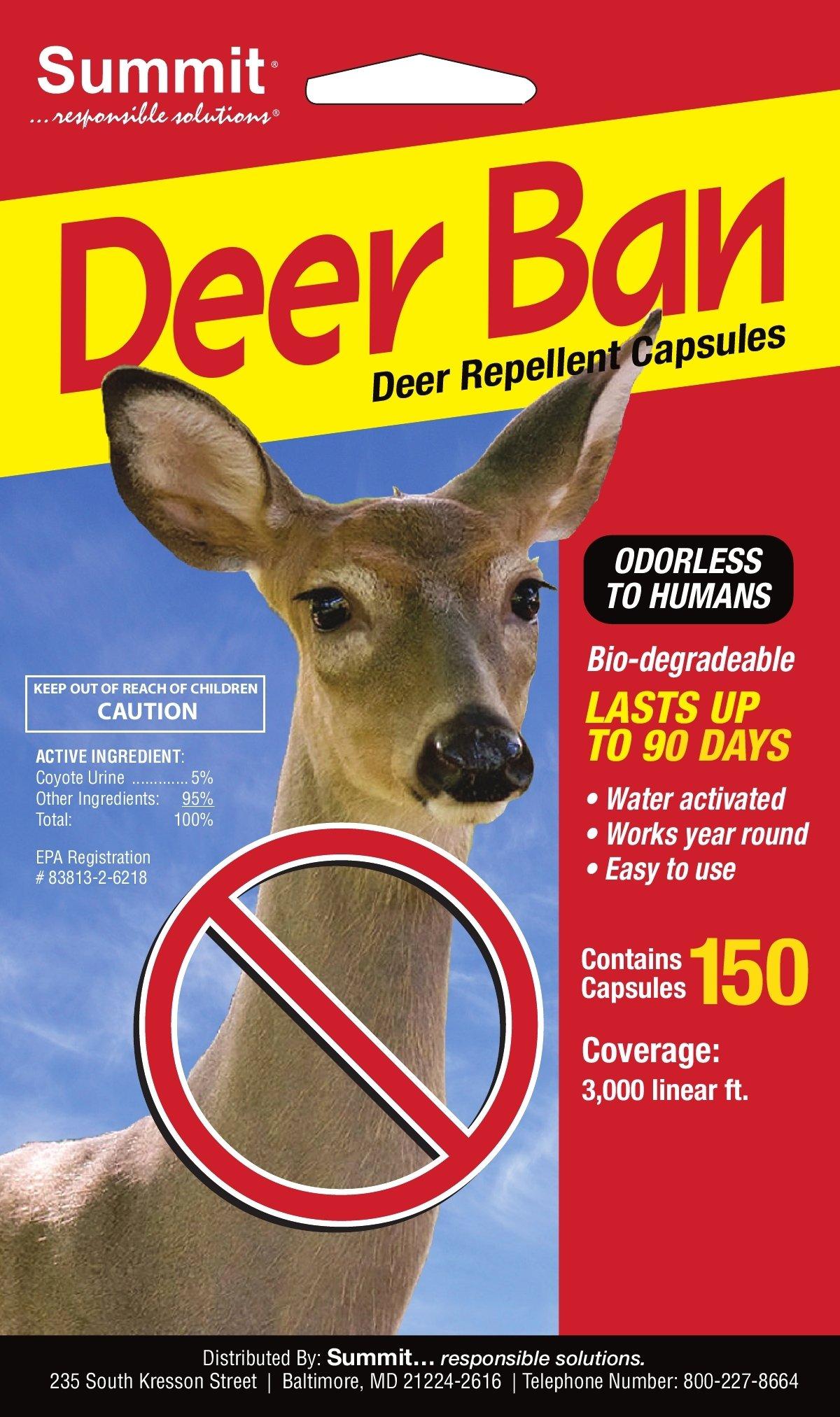Summit...responsible solutions 150 Count Deer Ban Repellent Capsules by Summit...responsible solutions