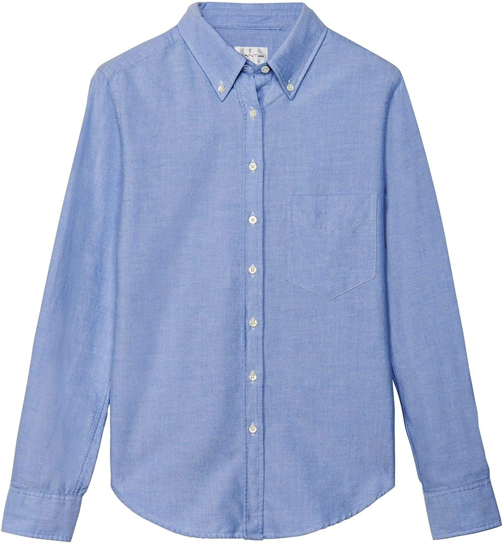 Gant The Hugger Oxford Camisa para Mujer: Amazon.es: Ropa y accesorios