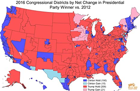 Amazon.com: Laminated Map - Daily Kos Elections Presents The ...