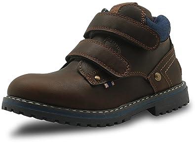 c3571269c4457 Amazon.com | Apakowa Autumn Winter Boys Martin Boots (Toddler/Little ...