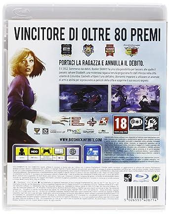 BIOSHOCK INFINITE - PREMIUM EDITION PS3: Amazon.co.uk: PC & Video Games