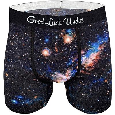 Good Luck Undies Men's Nebula Boxer Brief Underwear at Amazon Men's Clothing store