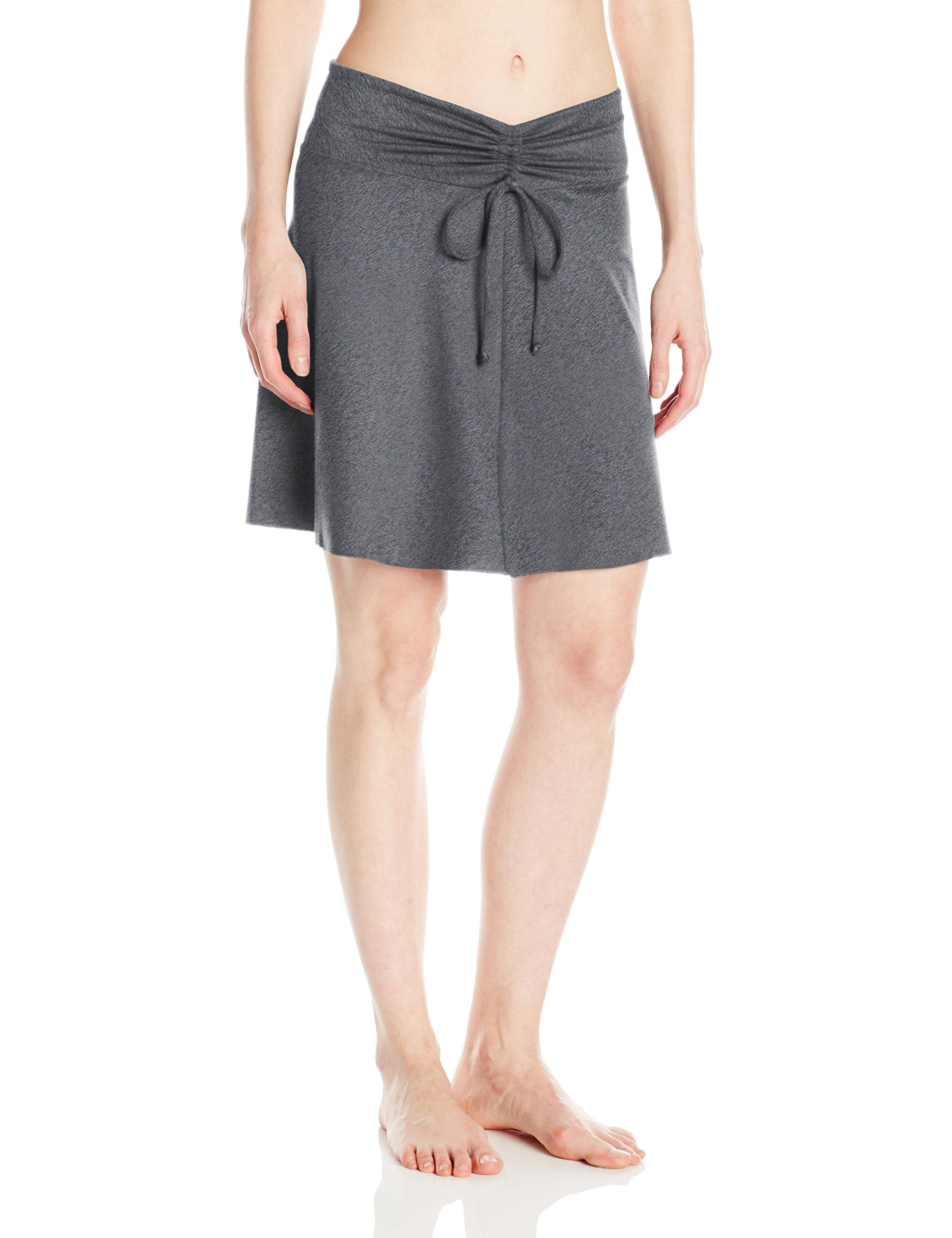 Soybu Women's Serendipity Skirt, Medium, Storm Heather by Soybu