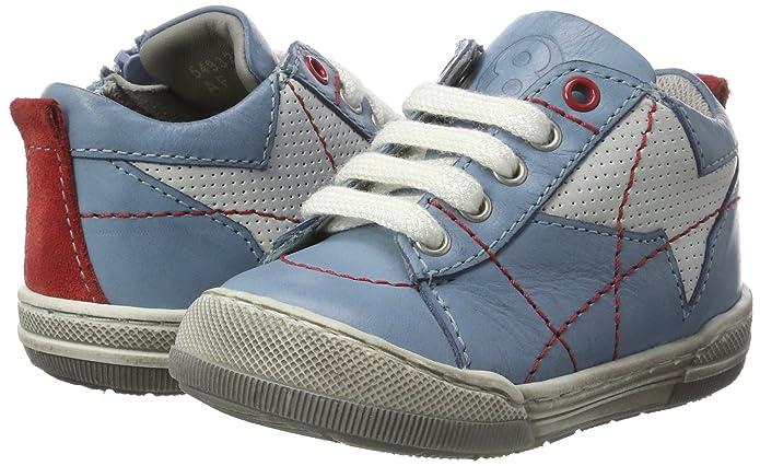 Mod8 549320-10, Bébés, Chaussures Bleu (jean Rouge), 19 Eu