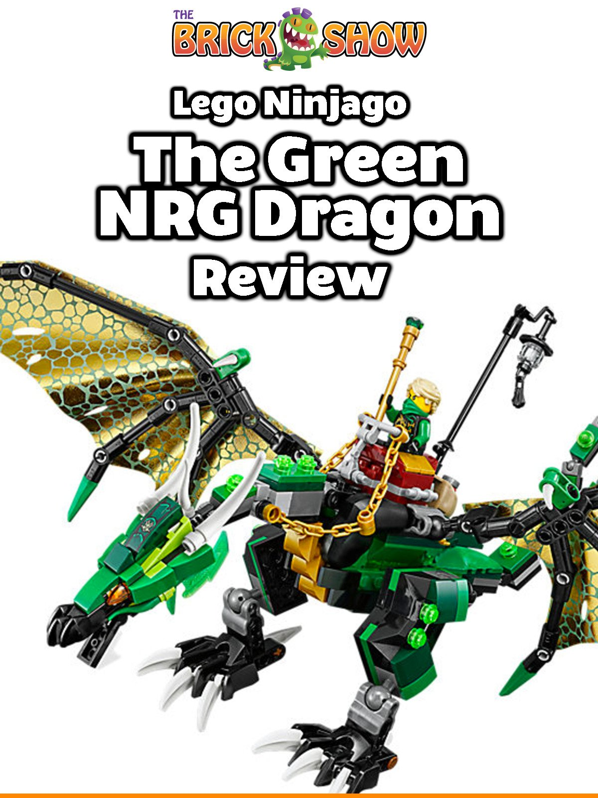 Watch Review: Lego Ninjago The Green NRG Dragon Review ...