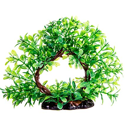 plastic fish tank plants artificial aquarium plants realistic water plant for aquariums decorations66 inch - Christmas Aquarium Decorations