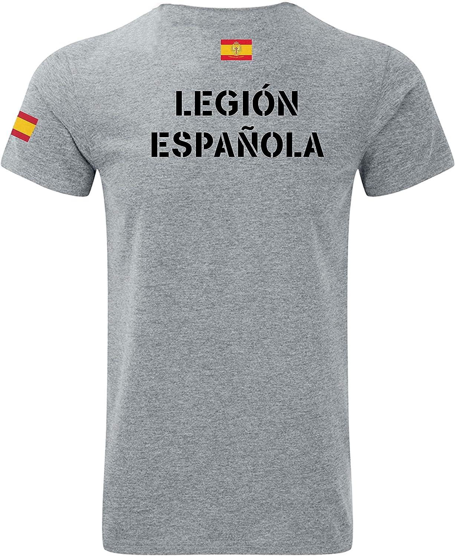 Imperio - Camiseta La Legión Española - Ejercito de Tierra en sublimación (XL): Amazon.es: Ropa y accesorios