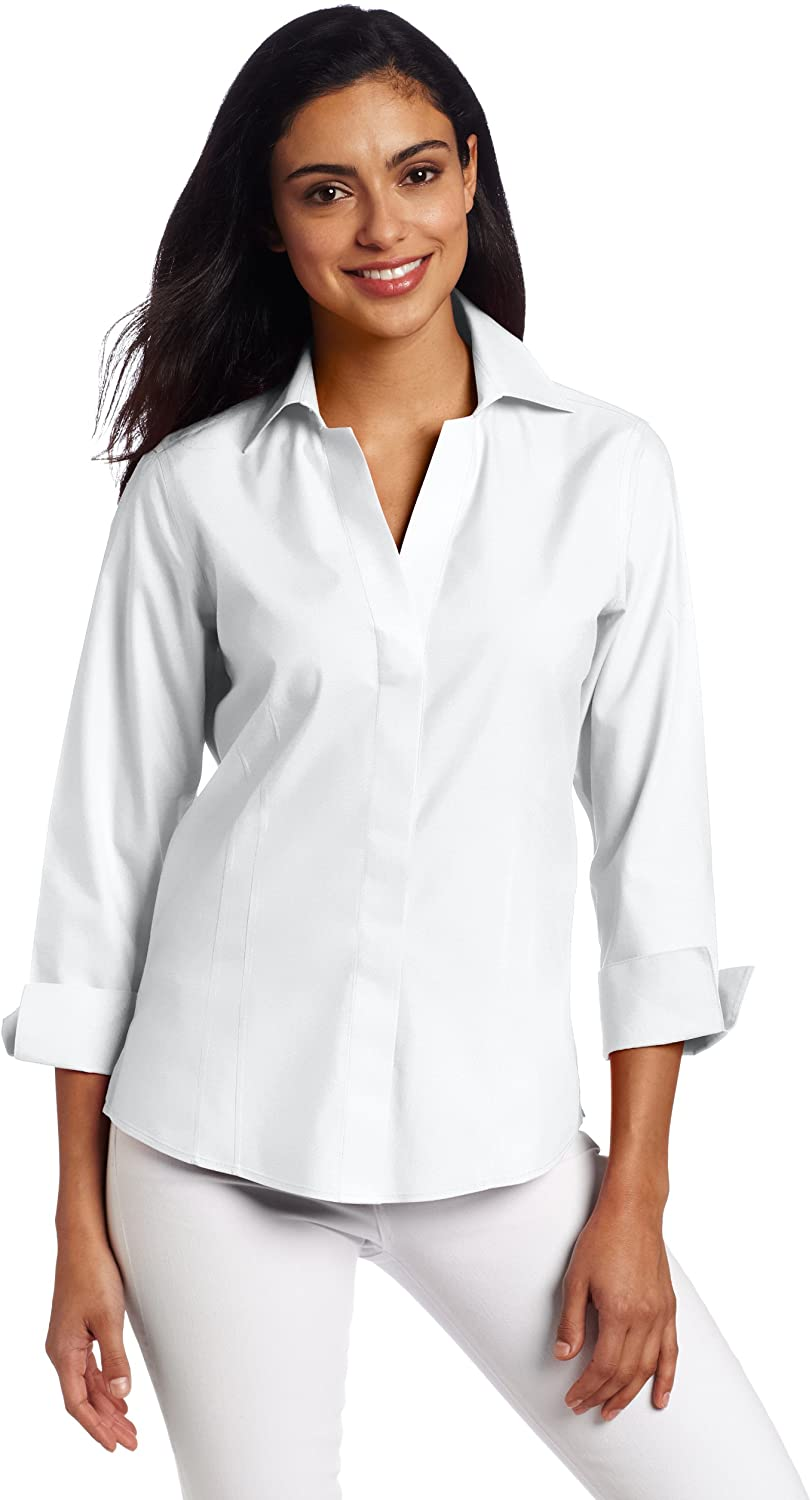 Foxcroft Max 80% OFF Women's Taylor 100% quality warranty Essential Non-Iron Blouse