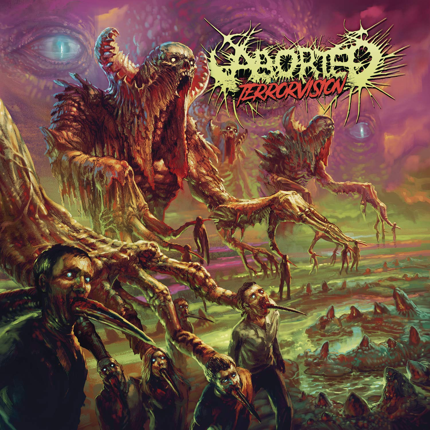CD : Aborted - Terrorvision (Germany - Import)