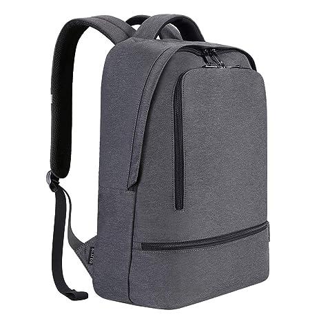 1f132be2eeaa Laptop Backpack, REYLEO Daypack Backpack Travel School Bag Women Men Water  Resistant Rucksack Notebook for Business College Work Travel backpack Grey