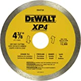 DEWALT DW4738 4 3/8-Inch by .060-Inch Wet/Dry XP4 Porclean and Tile Blade