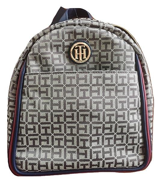 Tommy Hilfiger - Bolso mochila para mujer Verde caqui Medium: Amazon.es: Ropa y accesorios