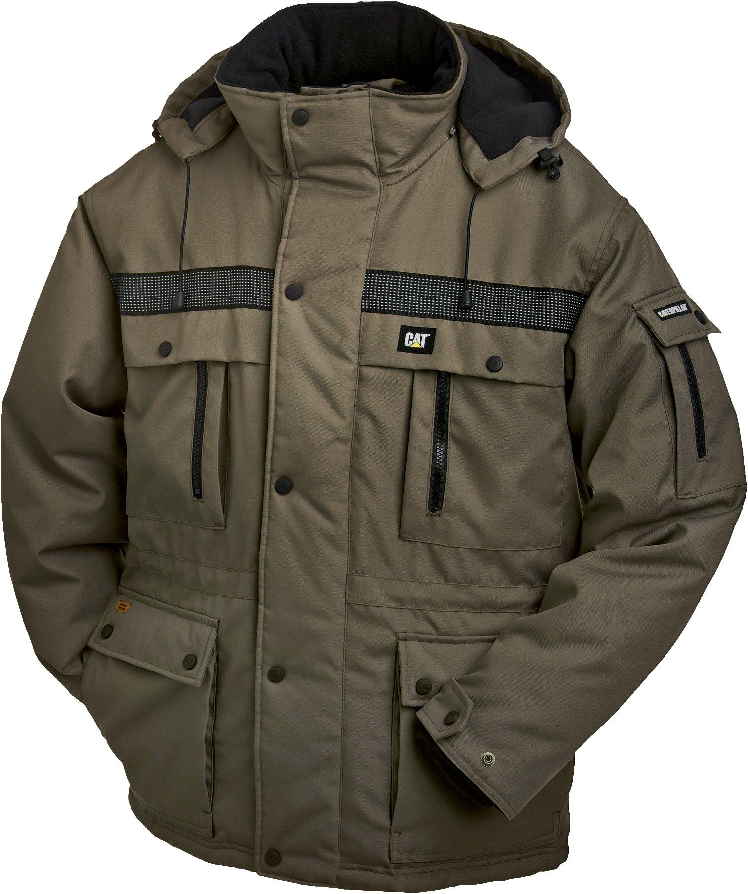 Caterpillar Mens Heavy Insulated Parka CAT Men/'s Sportswear /& Accessories W11432