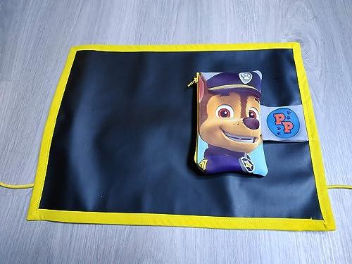 Pizarra de tela enrollable con estuche de la Patrulla Canina: Amazon.es: Handmade