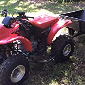 HONDA RECON 250 ATV DEEP MUD TIRES COMPLETE SET OF 4 SWAMP LITE ATV SWAMPLITE