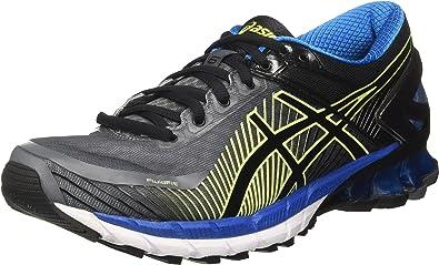 Asics Gel-Kinsei 6, Zapatillas de Entrenamiento Hombre, Gris (Carbon / Black / Electric Blue), 39.5 EU: Amazon.es: Zapatos y complementos