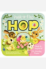 Peek-a-Flap Hop - Children's Lift-a-Flap Board Book Gift for Easter Basket Stuffers, Ages 2-6 (Peek-A-Flap Board Book) Board book