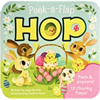 Hop - Easter Peak-a-Flap Board Book (Peek-A-Flap Board Book)