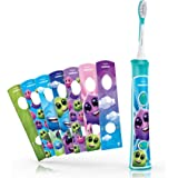 Philips Sonicare For Kids Sonic electric toothbrush - electric toothbrushes (Battery, Built-in, Lithium-Ion (Li-Ion), Status)