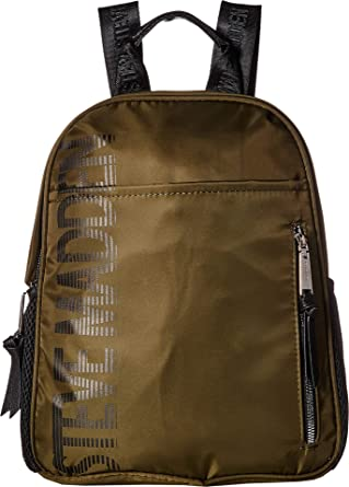 0c35ab66b4 Amazon.com | Steve Madden Women's Sporty Logo Backpack Olive One ...