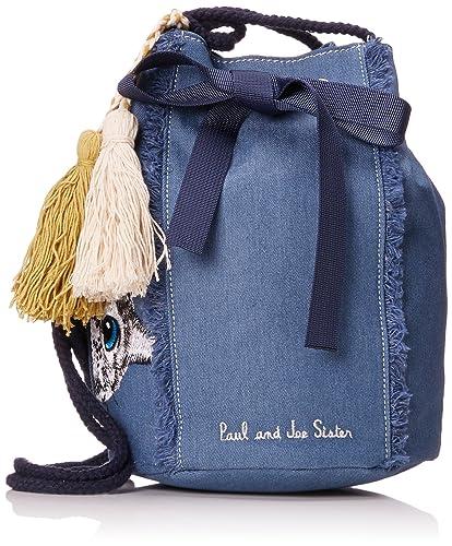 Paul & Joe Sister - 7jean, Bolsos mochila Mujer, Azul (Jeans),. Pasa ...