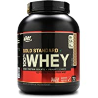 Optimum Nutrition (ON) Gold Standard 100% Whey Protein Powder - 5 lbs, 2.27 kg (Rocky Road)