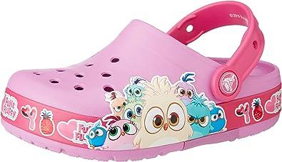 Crocs Crocsfl Jasmine Band Clog K Sabots Mixte Enfant