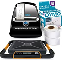 Amazon Price History for:DYMO LabelWriter 450 Turbo Thermal Label Printer (1752265) with LabelWriter LW Adhesive White Mailing Address Labels…