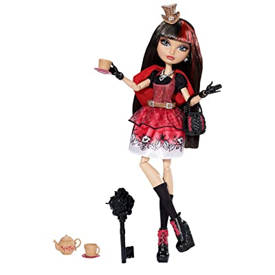 Ever After High Hat-Tastic Cerise Hood Doll (Discontinued by manufacturer): Toys & Games